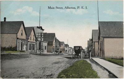 , Main Street, Alberton, P.E.I. (3152), PEI Postcards