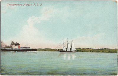 , Charlottetown Harbor, P.E.I. (3138), PEI Postcards