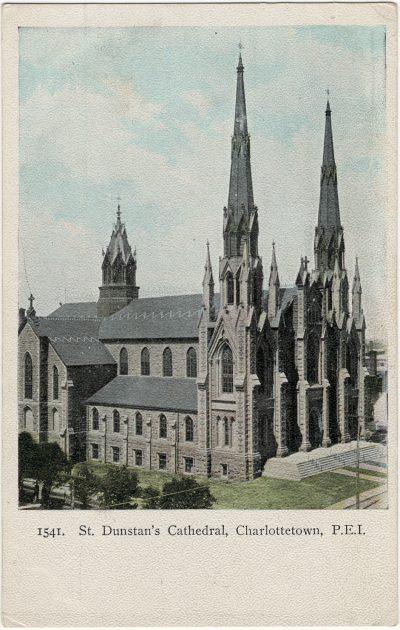 , St. Dunstan's Cathedral, Charlottetown, P.E.I. (3131), PEI Postcards