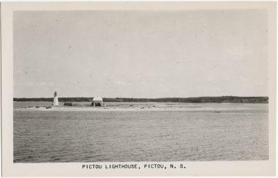 , Pictou Lighthouse, Pictou, N.S. (3134), PEI Postcards