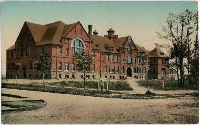 , Prince of Wales College, Charlottetown, P.E.I. (3127), PEI Postcards