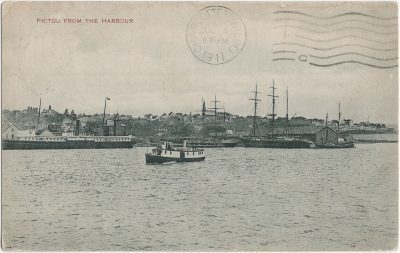 , Pictou from the Harbour (3124), PEI Postcards