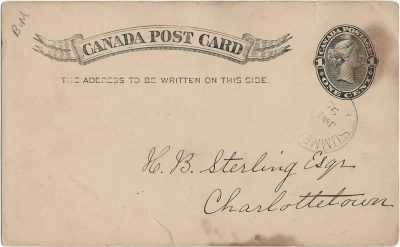, Canada Post Card (3113), PEI Postcards