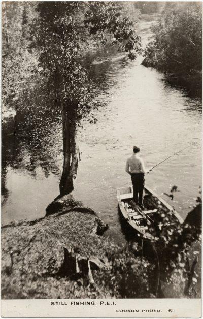 , Still Fishing. P.E.I. (3108), PEI Postcards