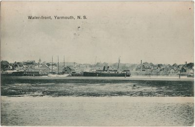 , Water-front, Yarmouth, N.S. (3162), PEI Postcards