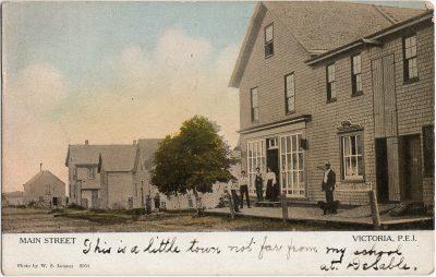 , Main Streett Victoria, P.E.I. (3164), PEI Postcards