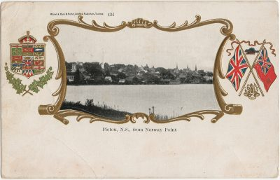 , Pictou, N.S., from Norway Point (3159), PEI Postcards