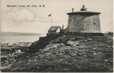 , Martello Tower, St. John, N.B. (3197), PEI Postcards