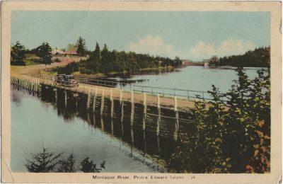 , Montague River, Prince Edward Island (3194), PEI Postcards