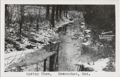 , Spring Thaw, Newmarket, Ont. (3182), PEI Postcards