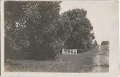 , RPPC likely of main road in Springfield, PEI. (3234), PEI Postcards