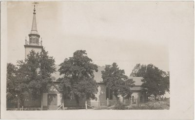 , RPPC of church in Liverpool, Nova Scotia. (3230), PEI Postcards
