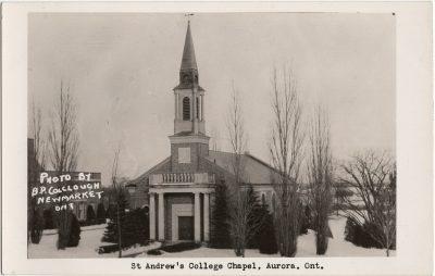 , St. Andrew's College Chapel, Aurora, Ont. (3240), PEI Postcards