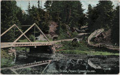, Pastoral Scene, Prince Edward Island (3233), PEI Postcards