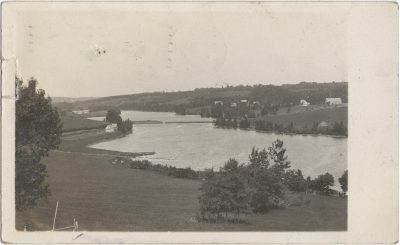 , RPPC, likely of Breadalbane/Emerald/Springfield area of the Island. (3229), PEI Postcards
