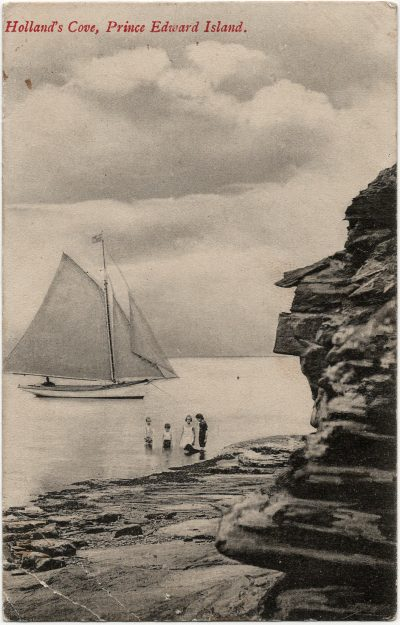 , Holland's Cove, Prince Edward Island. (3223), PEI Postcards