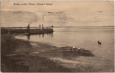 , Rocky point, Prince Edward Island (3225), PEI Postcards