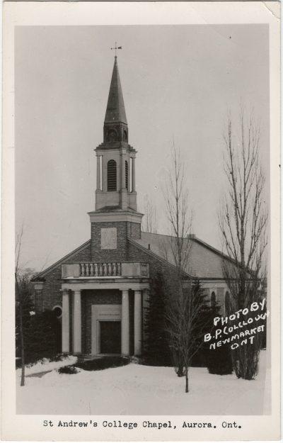 , St. Andrew's College Chapel, Aurora, Ont. (3241), PEI Postcards