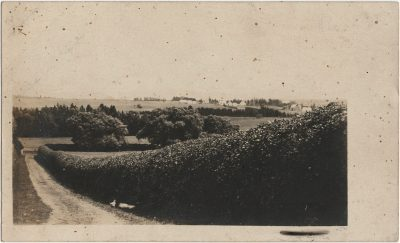 , RPPC likely of Stone Cottage grounds, Springfield. (3215), PEI Postcards
