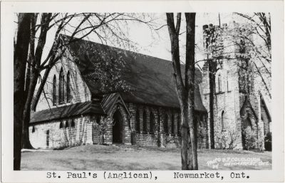 , St. Paul's (Anglican), Newmarket, Ont. (3211), PEI Postcards