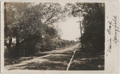 ", ""Main Road"" Springfield (3213), PEI Postcards"