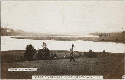 , West River near Charlottetown, P.E.I. (3209), PEI Postcards