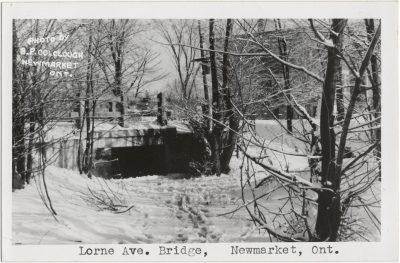, Lorne Ave. Bridge, Newmarket, Ont. (3235), PEI Postcards