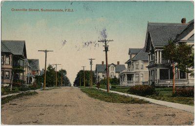 , Granville Street, Summerside, P.E.I. (3260), PEI Postcards