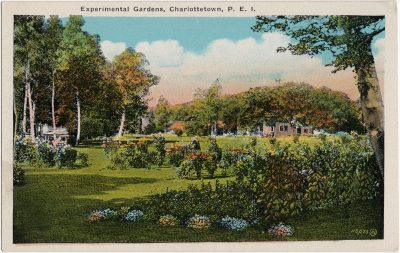 , Experimental Gardens, Charlottetown, P.E.I. (3254), PEI Postcards