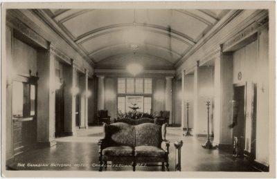 , The Canadian National Hotel, Charlottetown, P.E.I.  {Rotunda} (3256), PEI Postcards