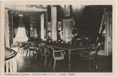 , Confederation Chamber, Charlottetown, P.E.I. Canada. (3252), PEI Postcards