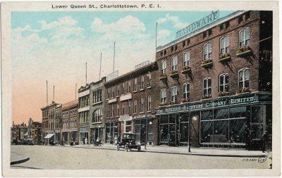 , Lower Queen St., Charlottetown, P.E.I. (3244), PEI Postcards