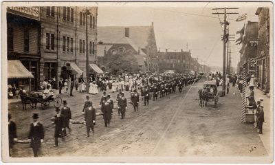 , Independent Order of Odd Fellows Grand Lodge, Charlottetown 1908 (0114), PEI Postcards