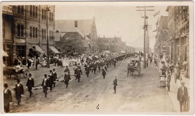 , Independent Order of Odd Fellows Grand Lodge, Charlottetown 1908 (0115), PEI Postcards