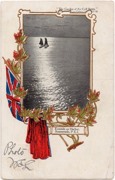 , Eventide on Harbor, Summerside, P.E.I. (0016), PEI Postcards