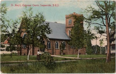 , St. Mary's Episcopal Church, Summerside, P.E.I. (0026), PEI Postcards