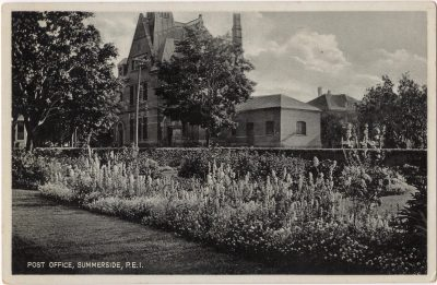 , Post Office, Summerside, P.E.I. (0022), PEI Postcards