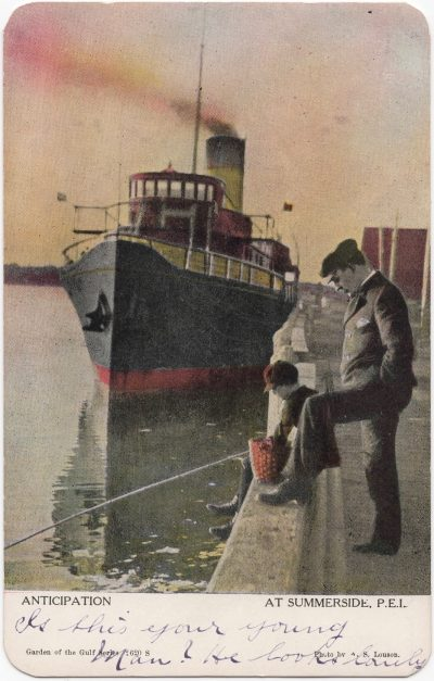 , Anticipation at Summerside P.E.I. (0031), PEI Postcards